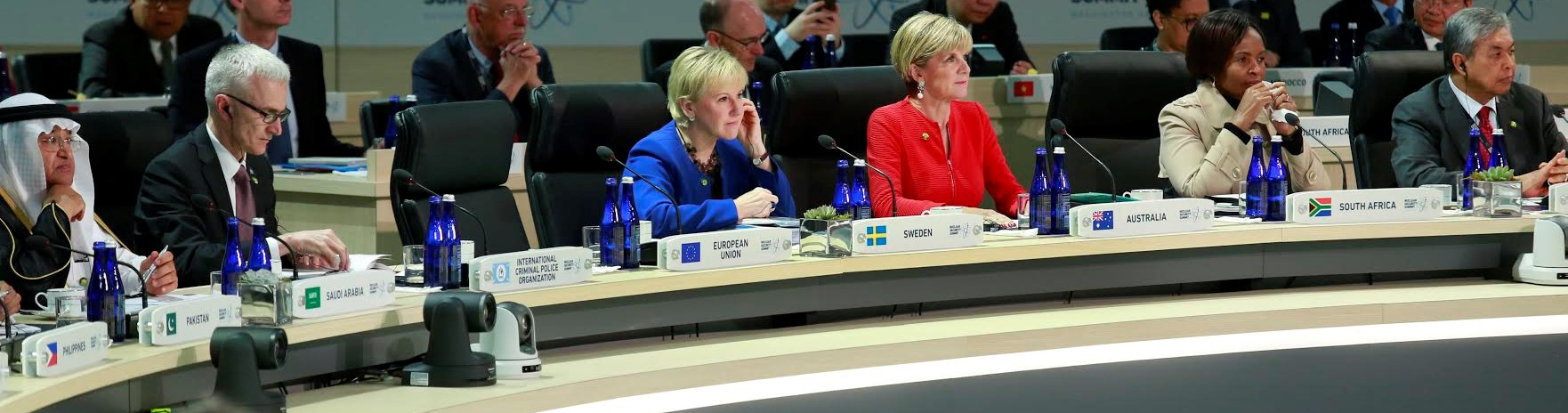 Australia's Julie Bishop with other foreign ministers at the UN (Photo: DFAT)