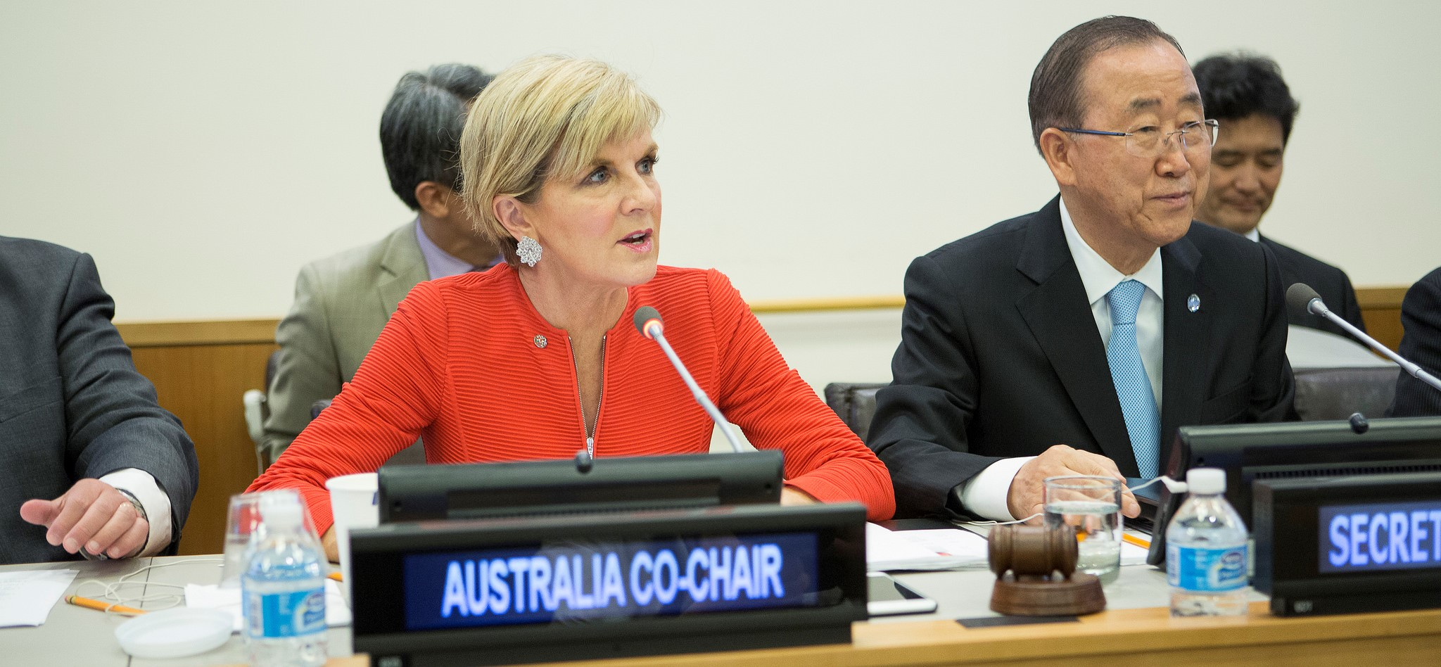 Australian foreign minister Julie Bishop at the UN in August 2016. (Photo: Flickr/DFAT)