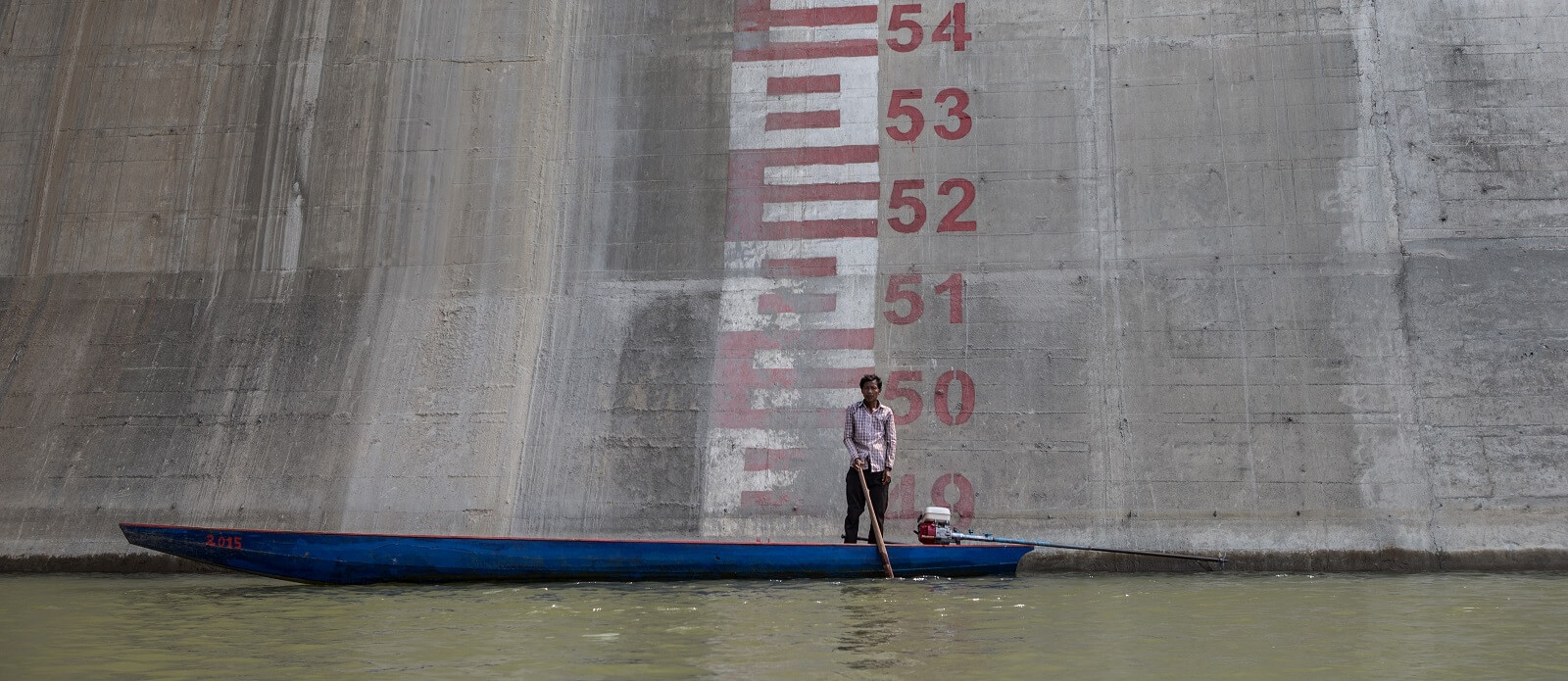 Sesan 2 dam in Stung Treng, Cambodia (Photo: Jason South via Getty)