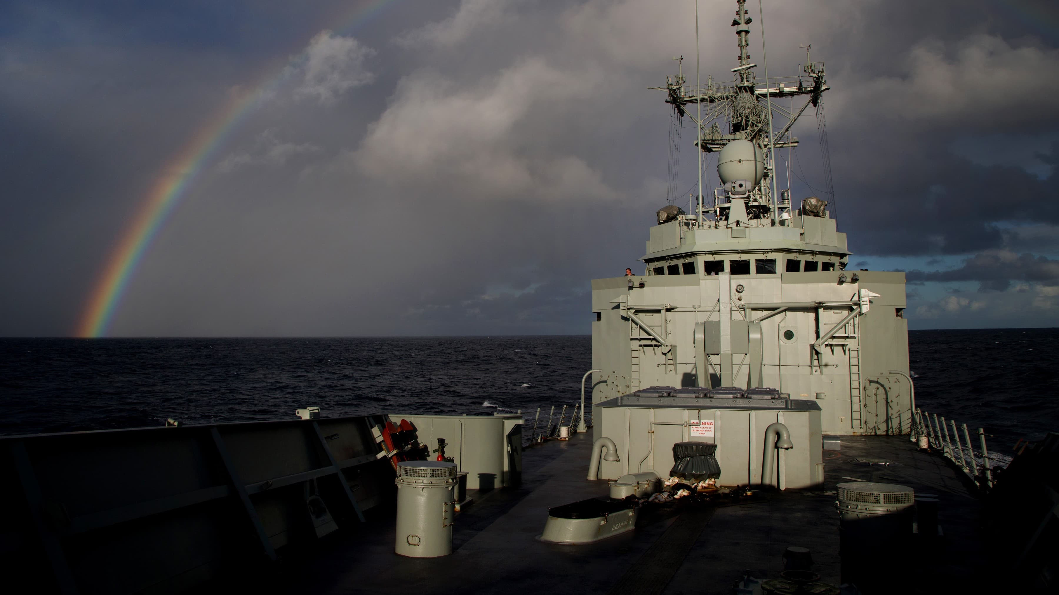 HMAS Newcastle (Photo: ABIS Nicolas Gonzalez/Commonwealth of Australia)