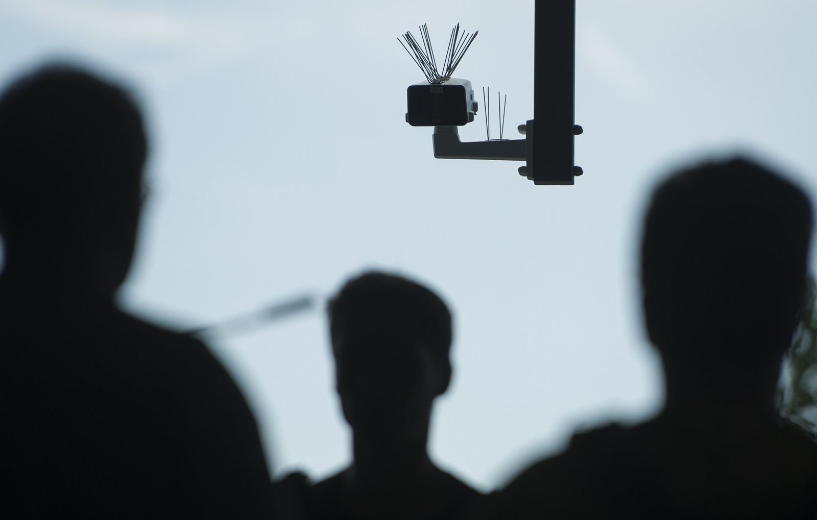 Facial recognition technologies tested on a crowd (Photo: Steffi Loos/Getty)