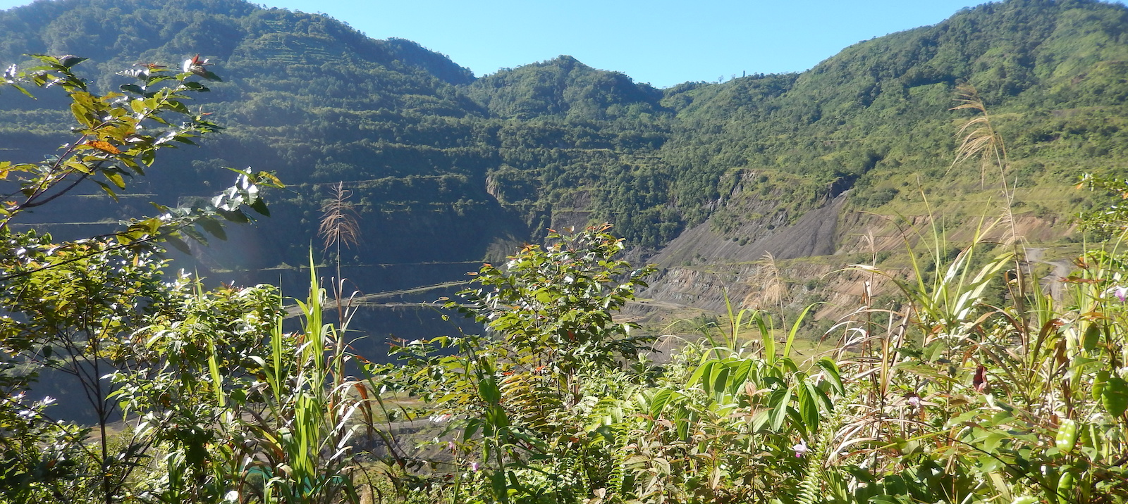 Panguna mine, Bougainville, 2016 (Photo: Annmaree O'Keeffe)