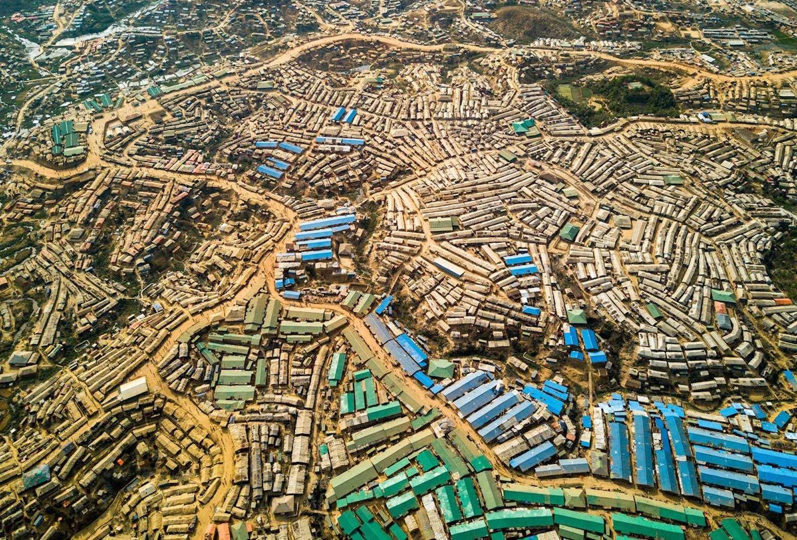 Kutupalong refugee camp in Cox's Bazar, Bangladesh (Photo: @antonioguterres / Twitter)