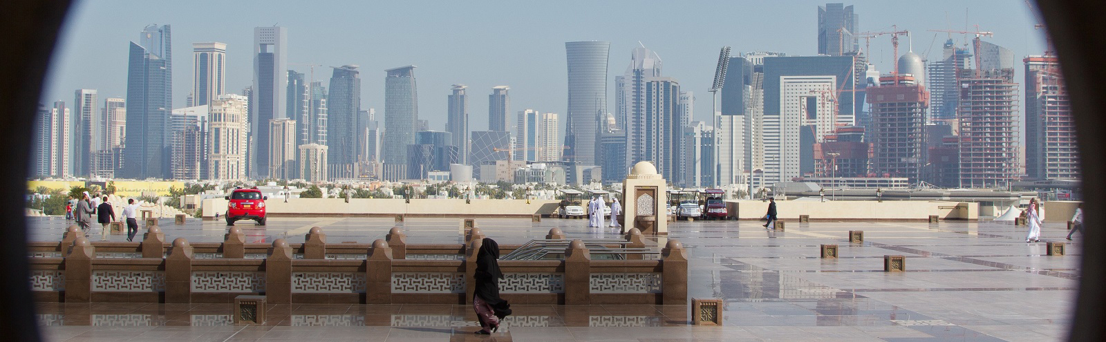 Doha skyline (Photo:Flickr/Omar Chatriwala)