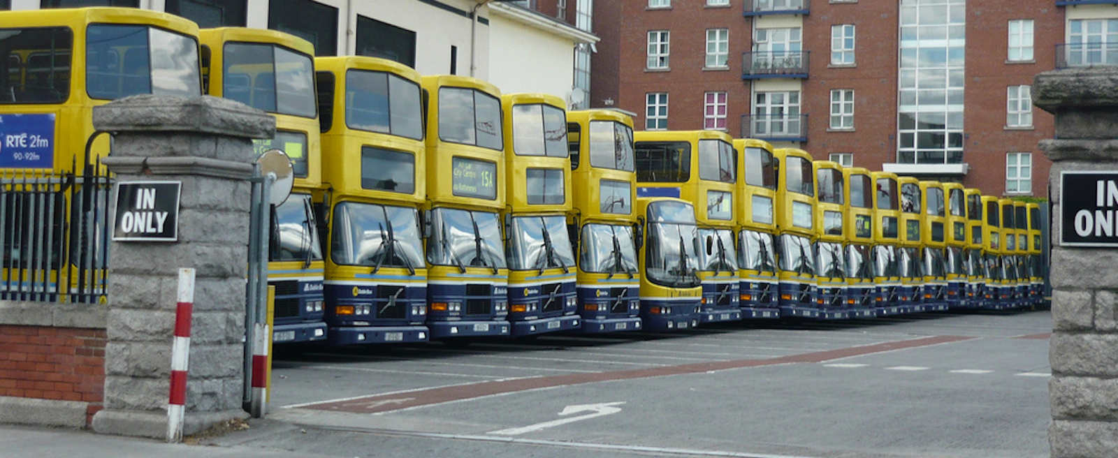 Ringsend Dublin Bus depot, in Dublin. (Photo: Wikimedia Commons)