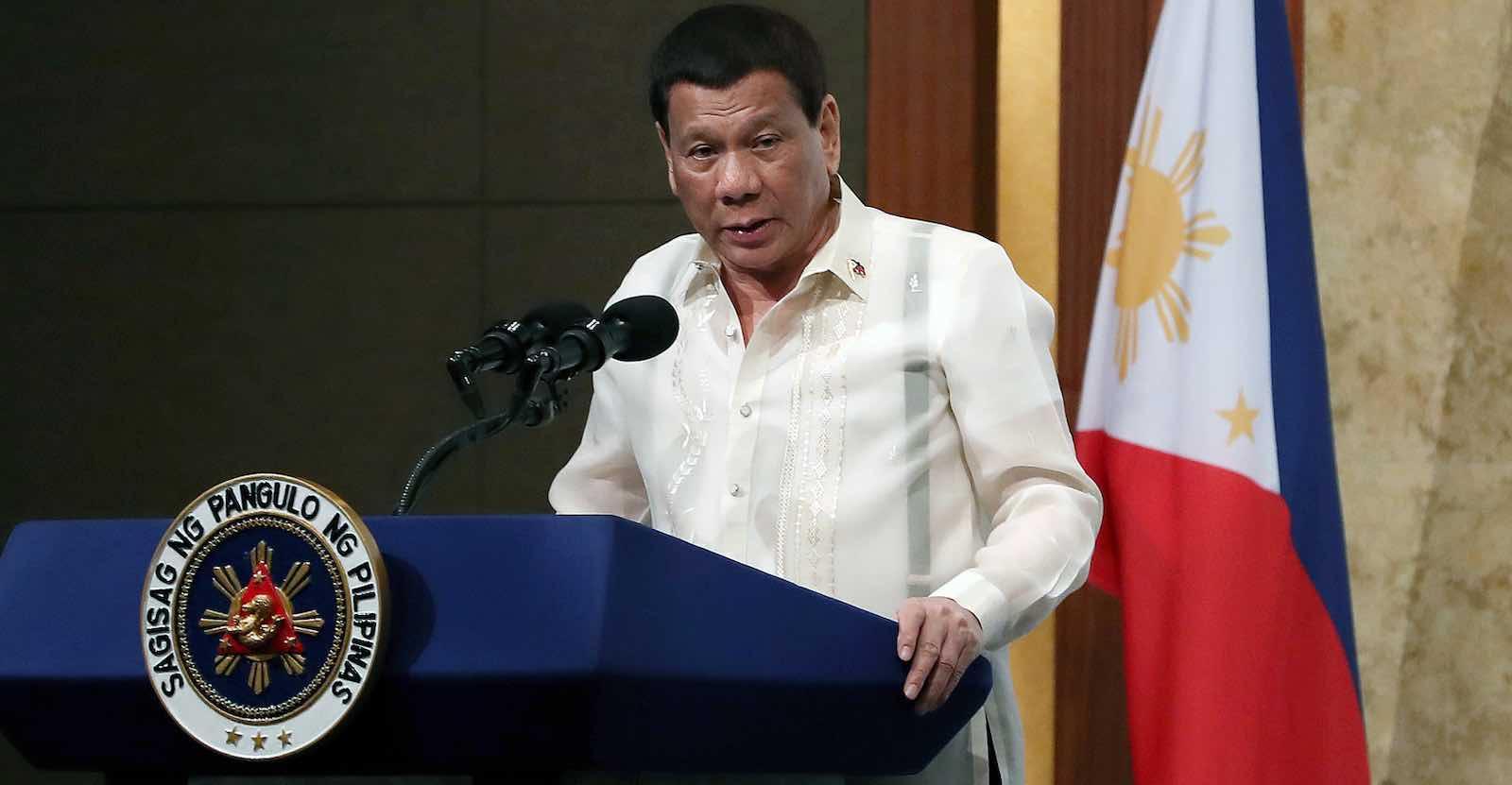Rodrigo Duterte (Photo: Republic of Korea/Flickr)