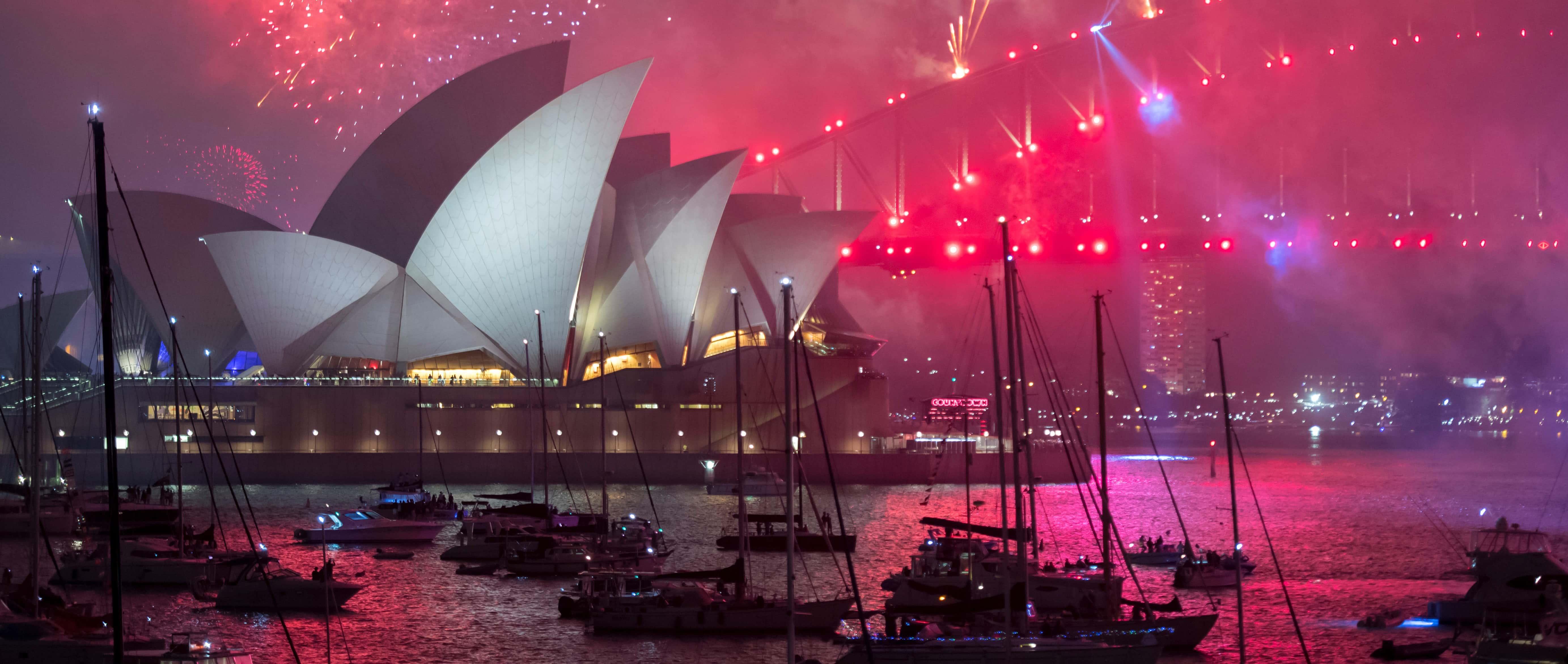 Sydney, 1 January 2018 (Photo: D. Morgan/Getty)