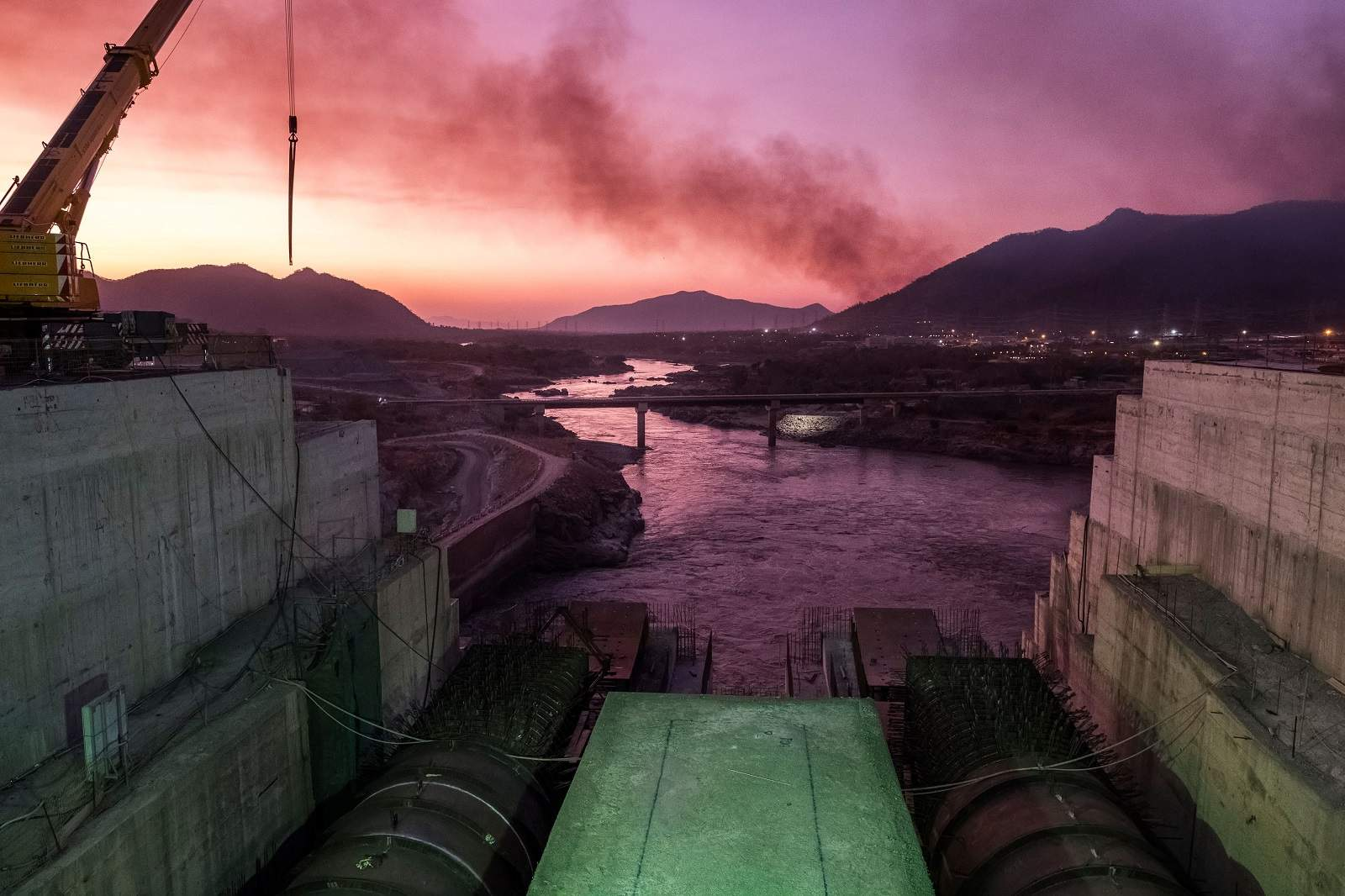 The Grand Ethiopian Renaissance Dam is set to become the largest hydropower plant in Africa (Eduardo Soteras/AFP via Getty Images)