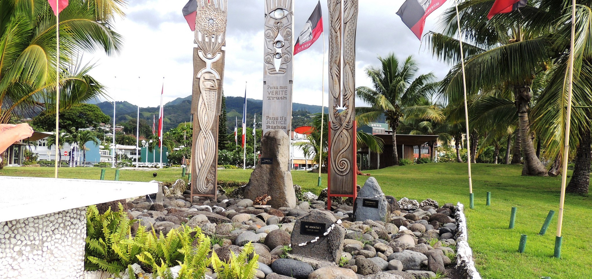 Monument in Papeete dedicated to the victims of the French Nuclear tests (Photo: Harry and Rowena Kennedy/Flickr)