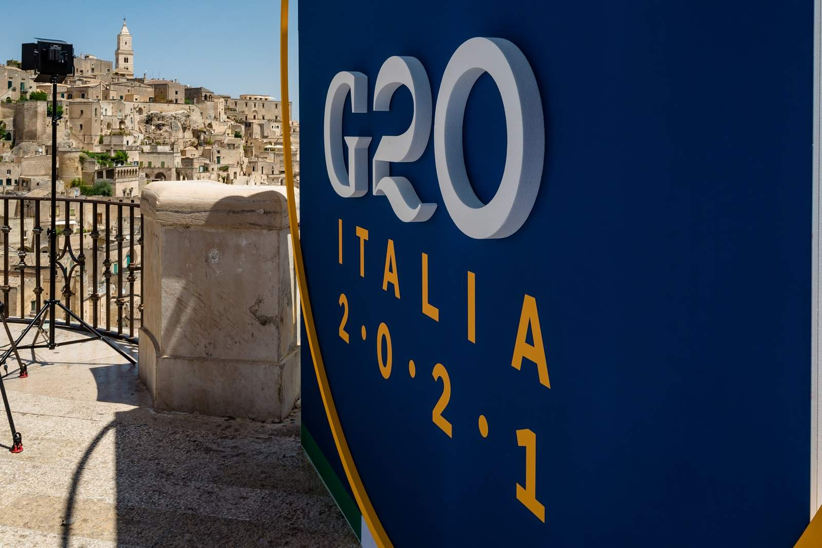 This year's G20 will take place in Rome in October (Davide Pischettola/NurPhoto via Getty Images)
