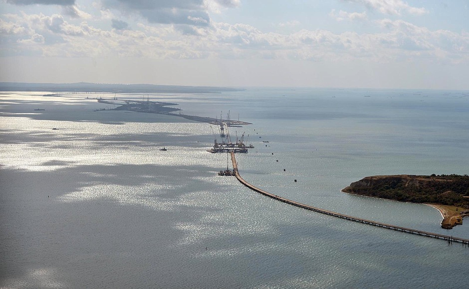 Kerch Strait (Photo: Kremlin.ru)