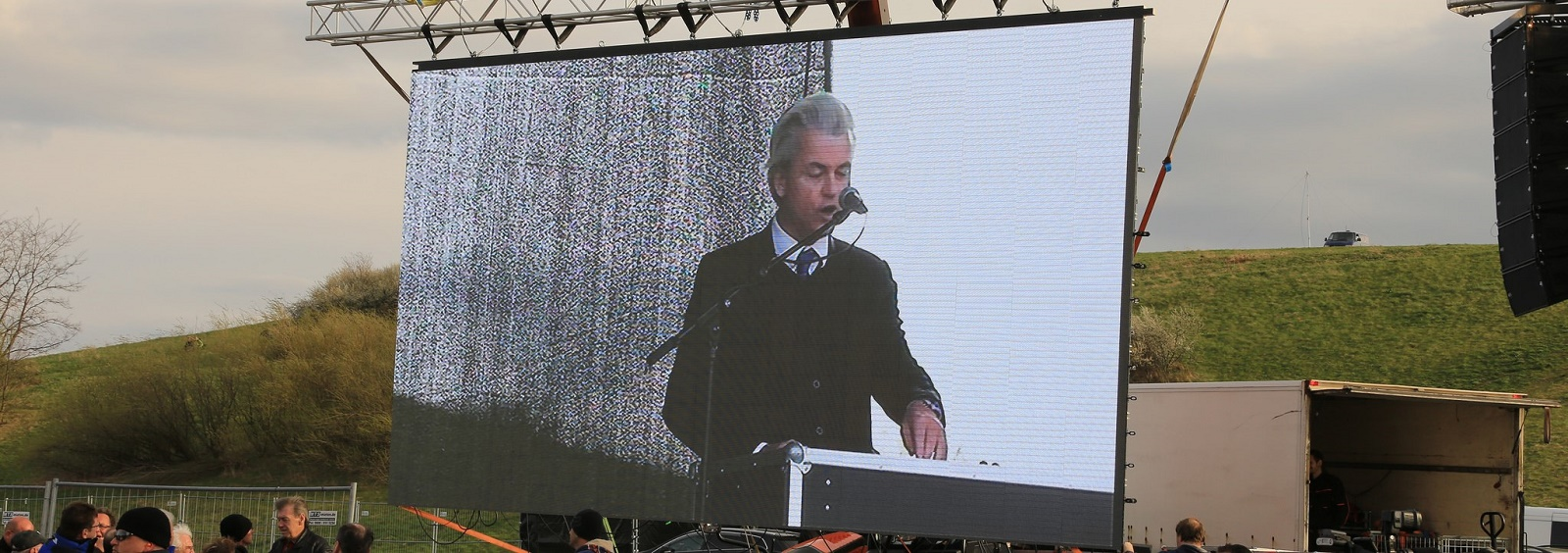 Dutch politician and founder of the Party for Freedom Geert Wilders (Photo: Flickr/Metropolico.org)