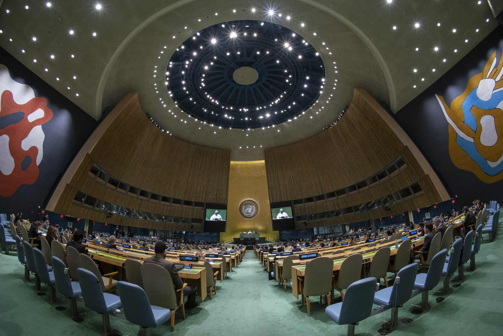 UN General Assembly, New York (Cia Pak/UN Photo)