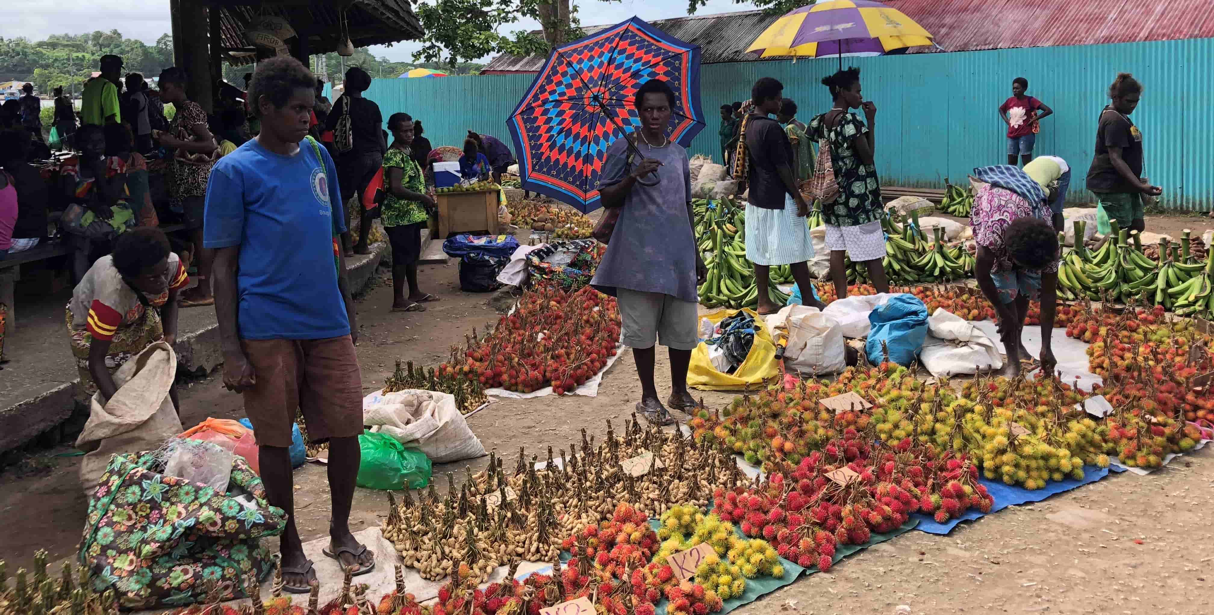 Market in Buka, Bougainville. (Photo: Nicole George)