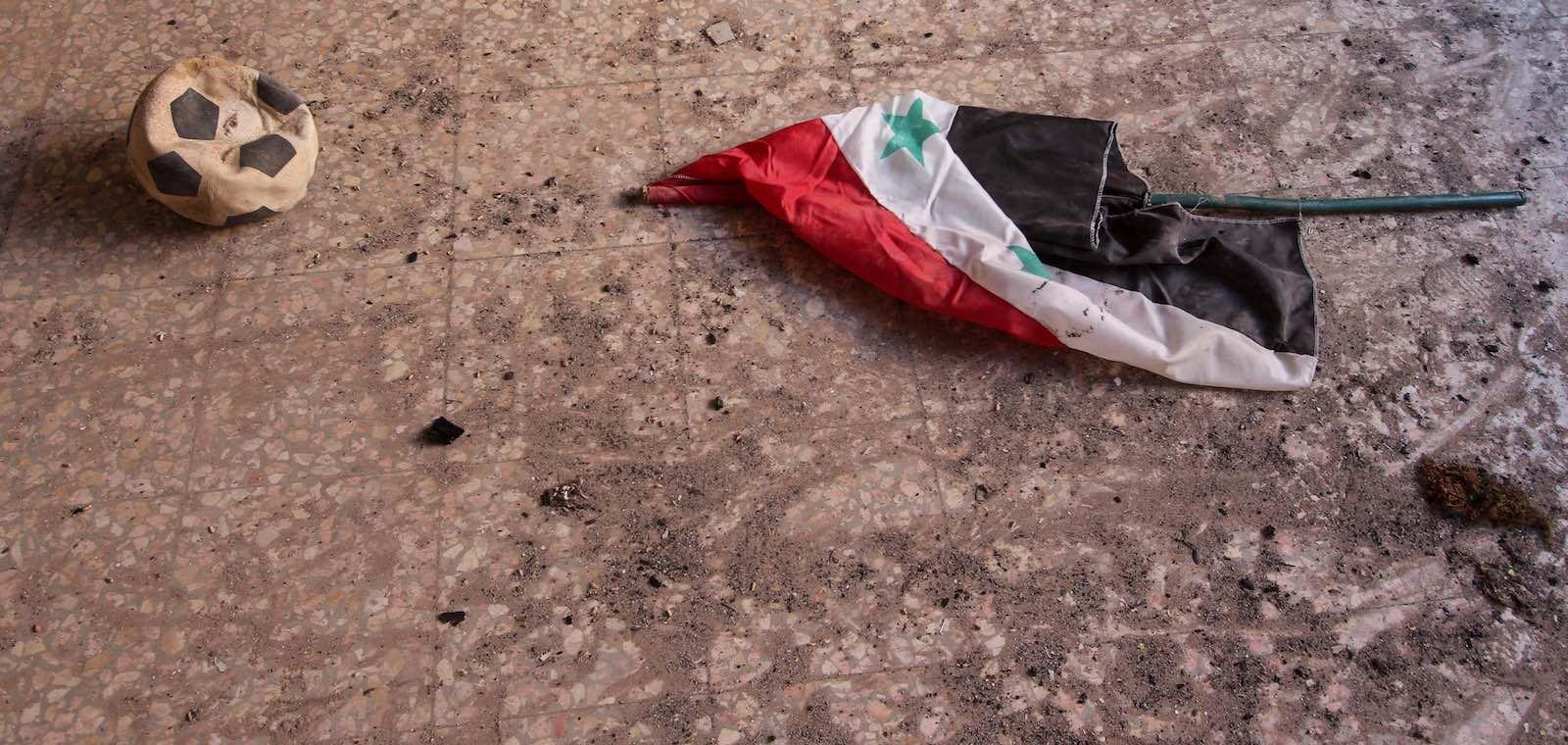 Al-Foah Town, Idleb, Syria, in July (Photo: Muhmmad Al-Najjar via Getty)