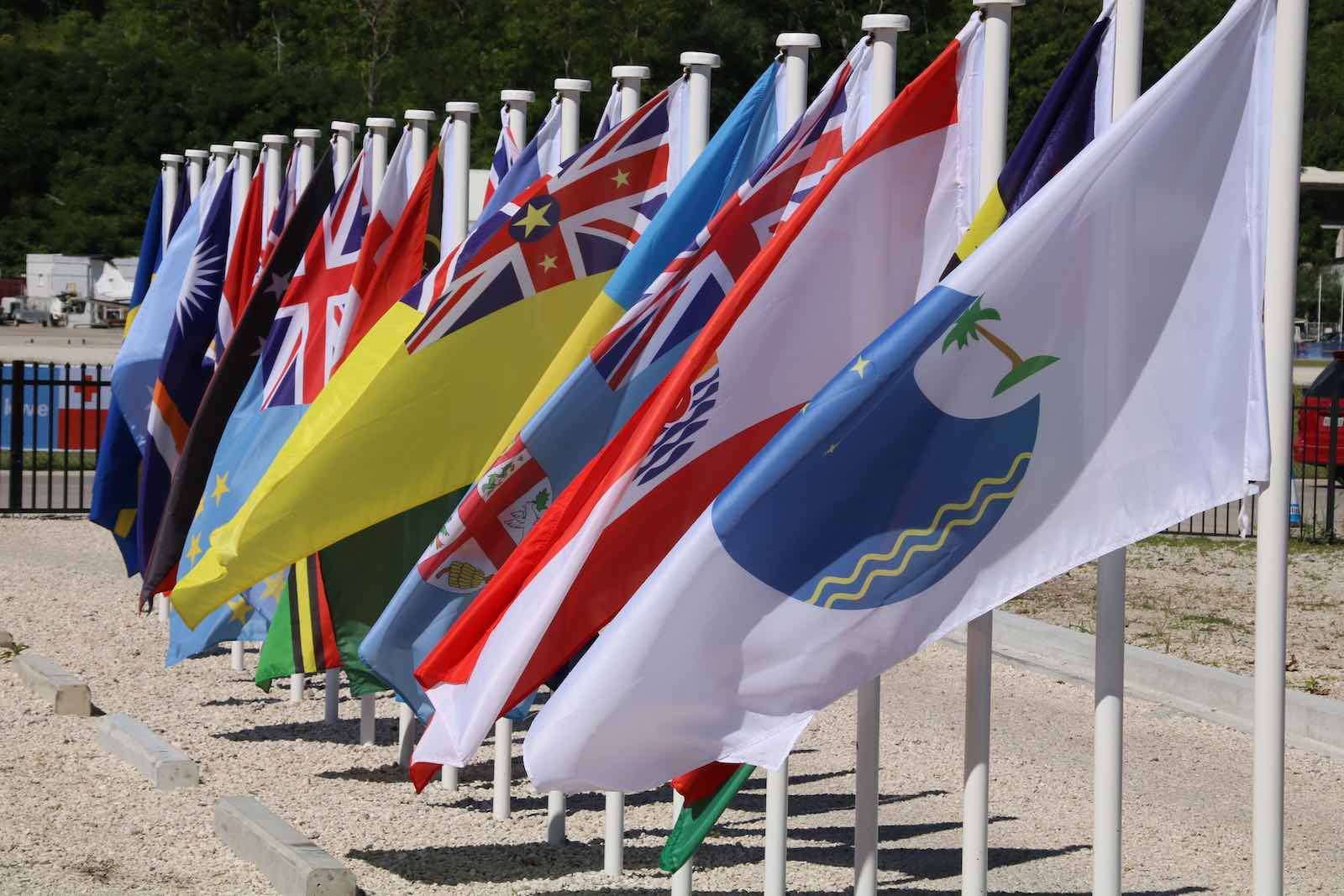 Banding together in a regional body such the Pacific Islands Forum is one solution for small states buffeted by great power competition (Mike Leyral/AFP via Getty Images)