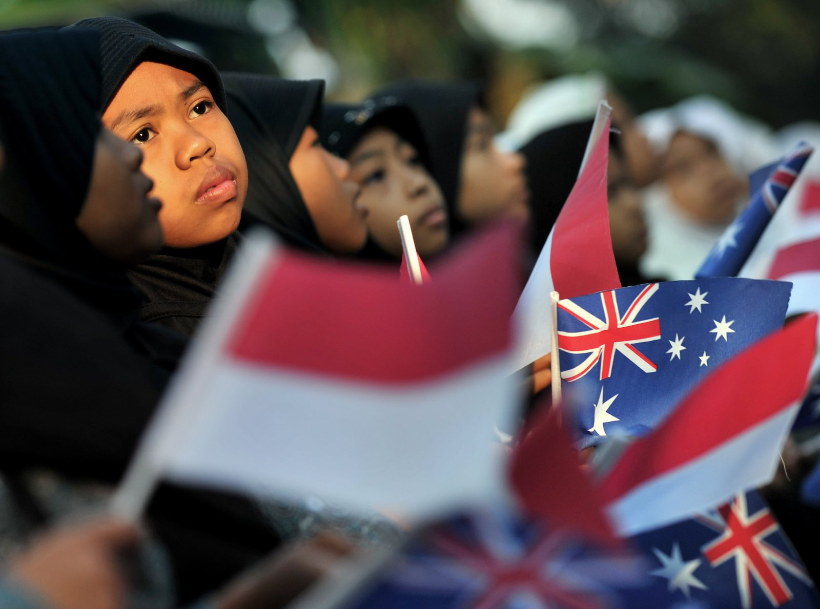 Indonesian language study has been in steady decline in Australia for many years (Photo: Bay Ismoyo via Getty)