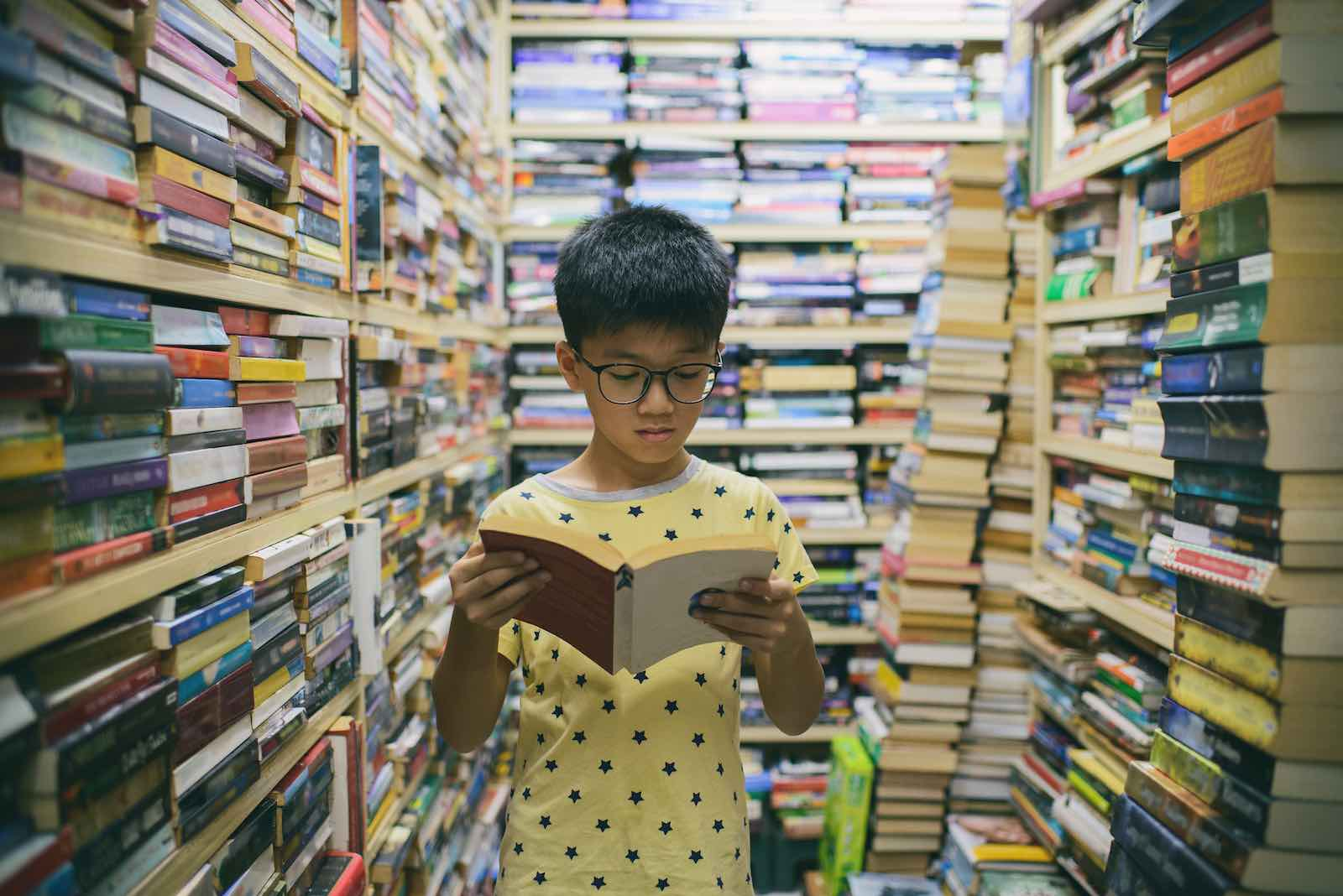 A young reader in George Town, Malaysia (Photo: Jordan Lye/Getty Images)