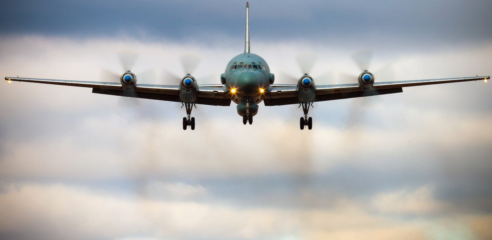 A Russian IL-20M, the type of aircraft destroyed in Syria (Photo: Alexander Kopitar via Getty)