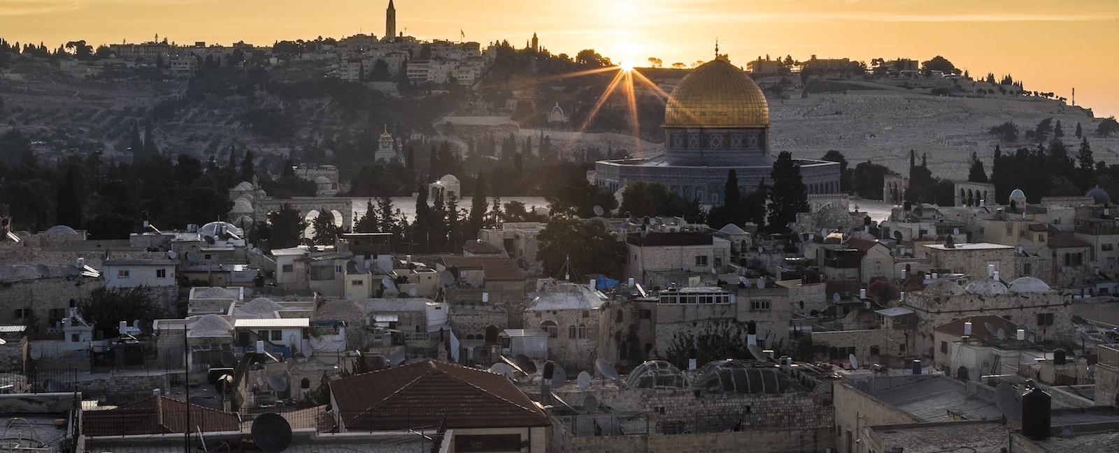 Jerusalem (Photo: Mostafa Alkharouf via Getty)