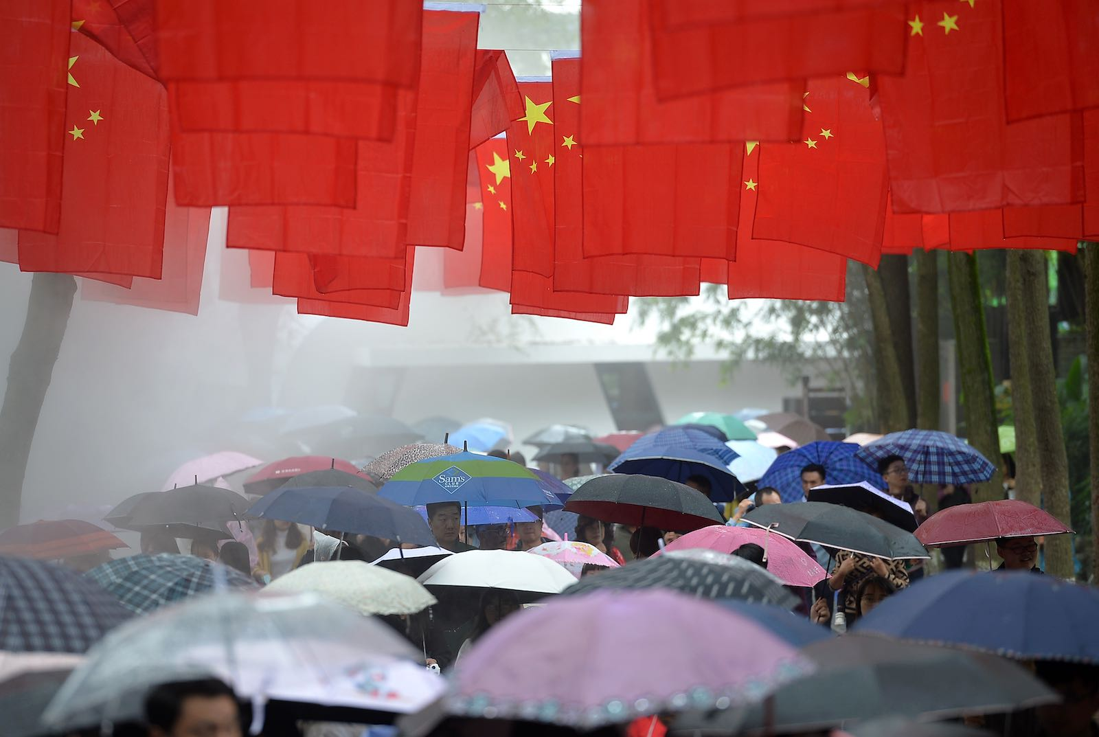 Amid the erosion of freedoms and increasing self-censorship, the rule of law is what is left that sets Hong Kong apart from the rest of China (Photo: Wang Qin via Getty)