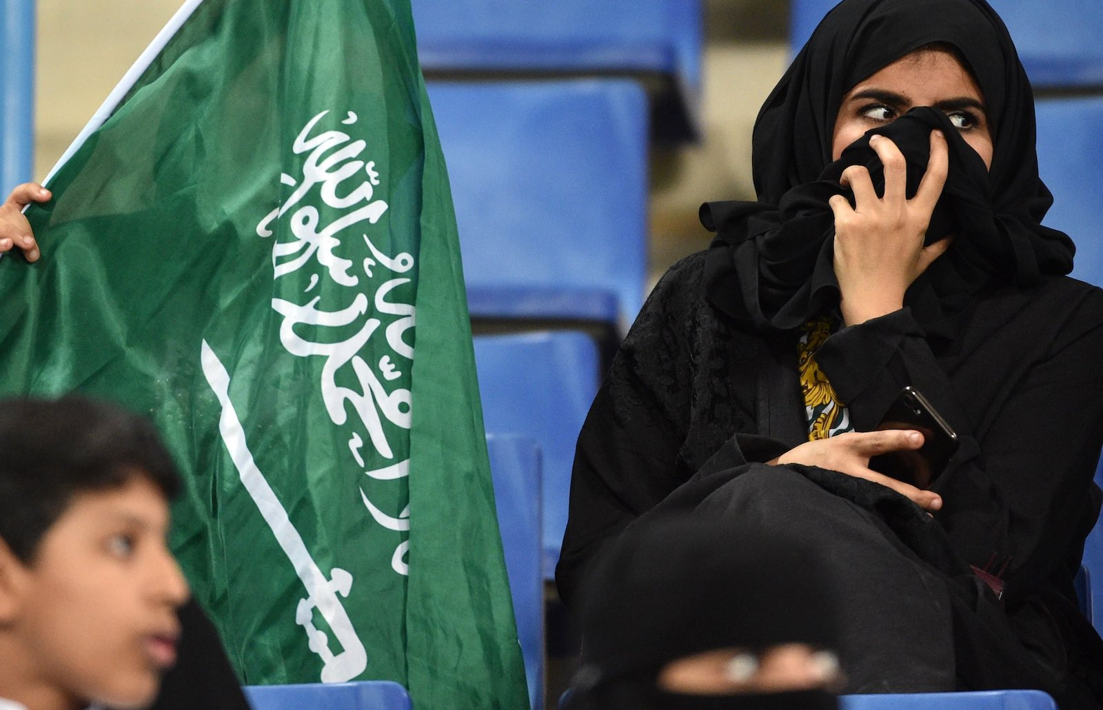 In Saudi Arabia, guardianship restrictions last from birth until death (Photo: Fayez Nureldine via Getty)