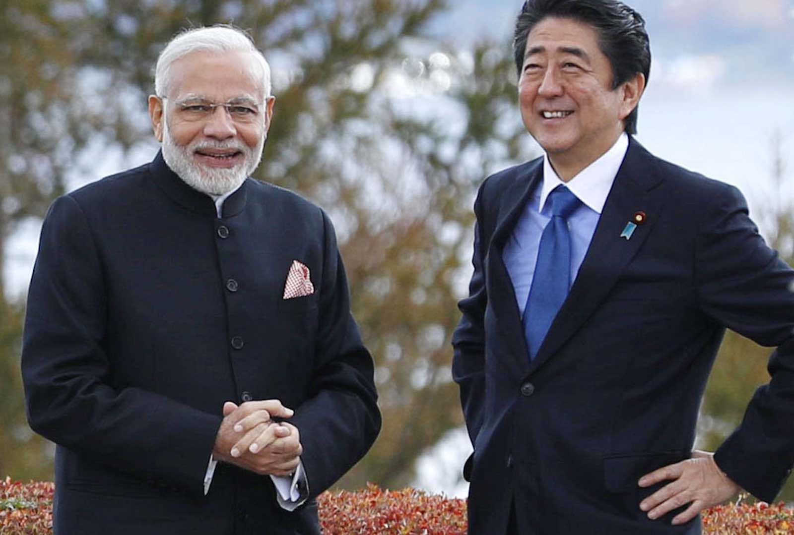 Forging a close and trustworthy relationship (Photo: Kyodo News via Getty)