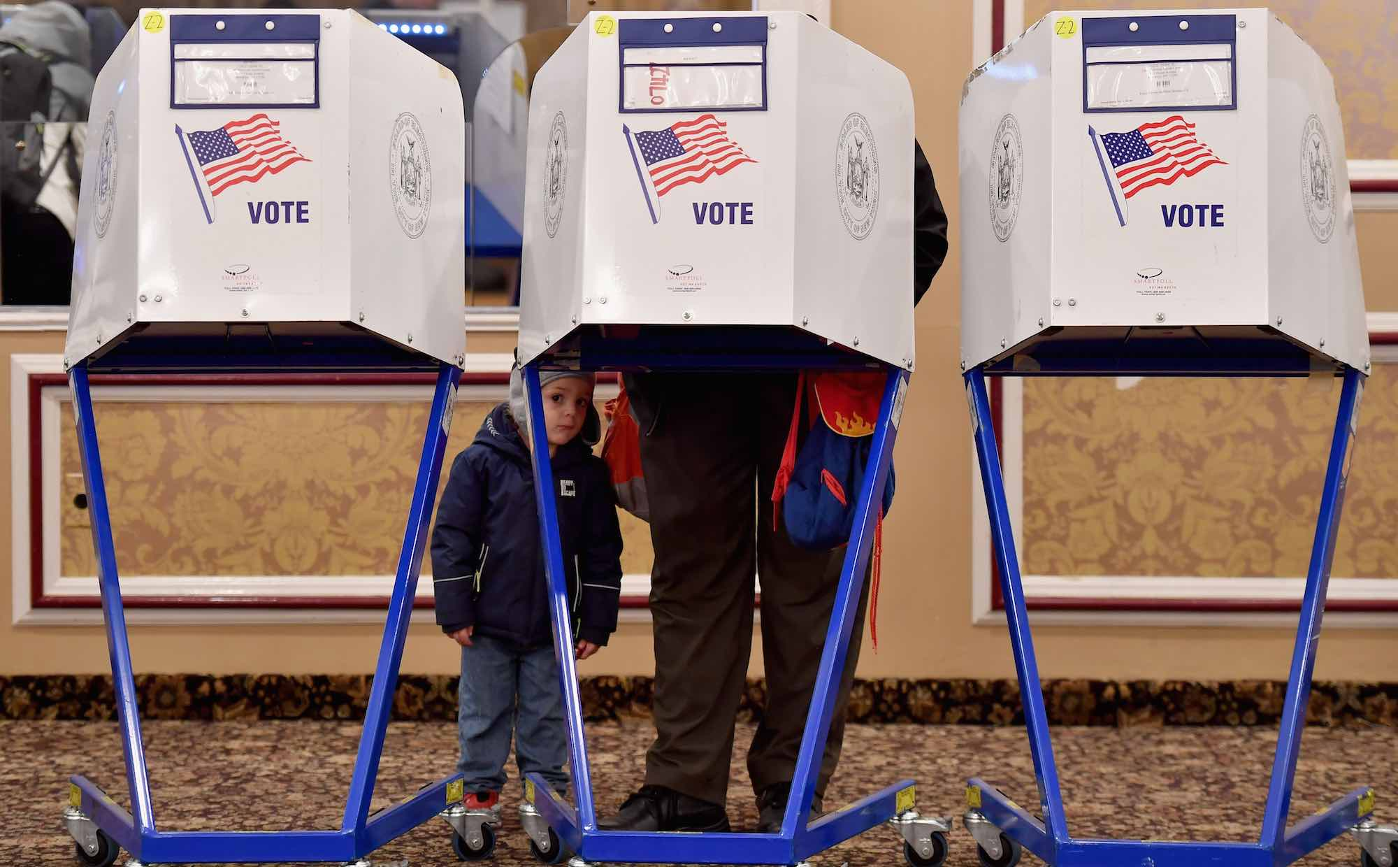 Judgement on the ballot (Photo: Angela Weiss via Getty)