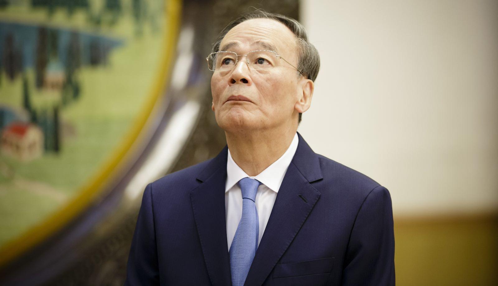 Wang Qishan, Vice President of the People's Republic of China (Photo: Inga Kjer via Getty)