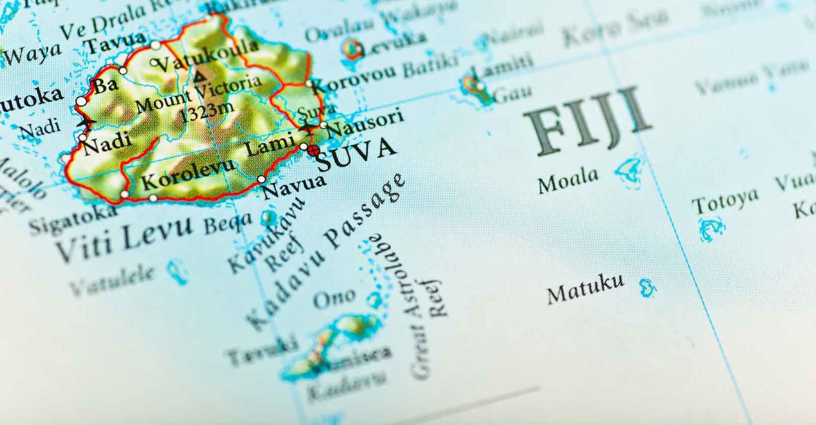 Suva, Fiji (Photo via Getty)