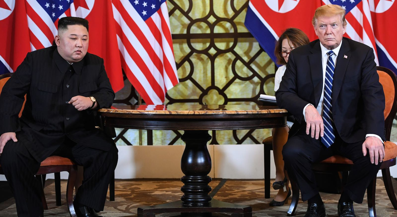 The Hanoi summit ended with a whimper, not the planed grand signing ceremony (Photo: Saul Loeb via Getty)