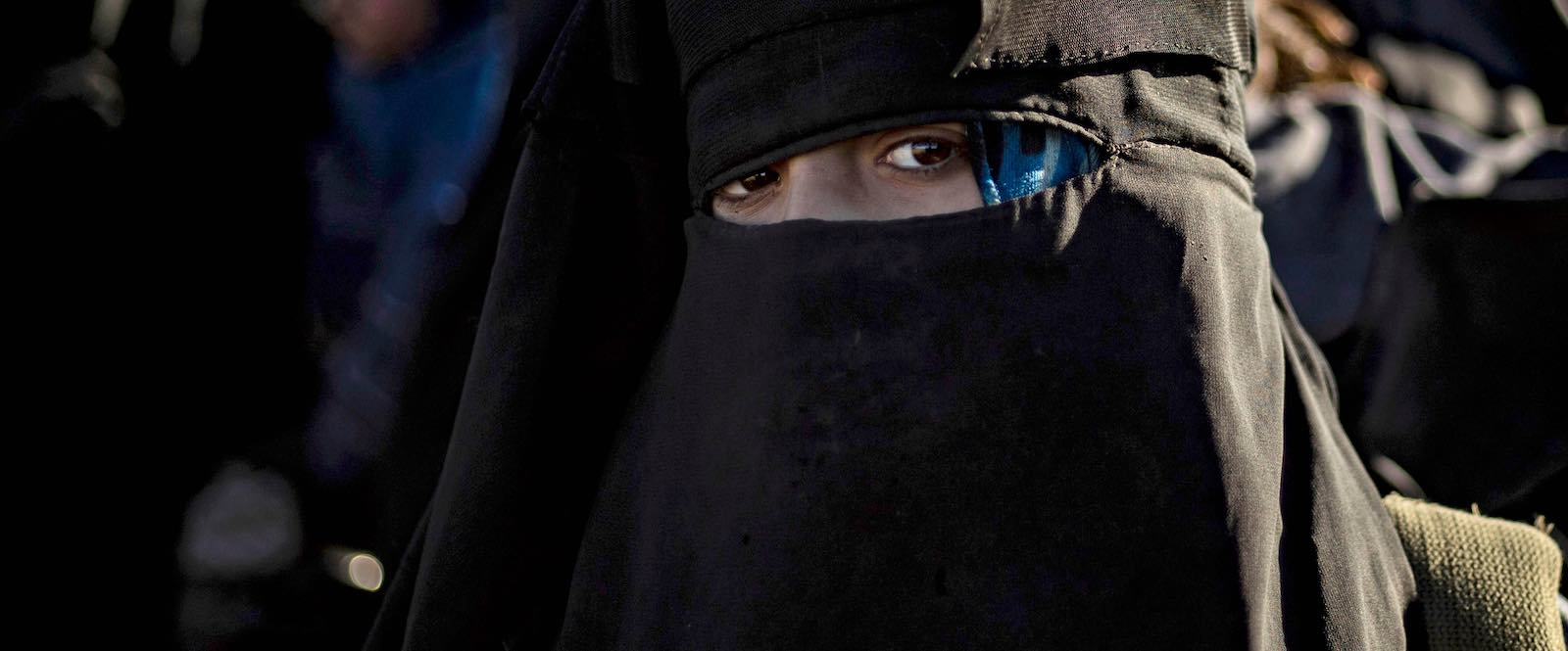 Women played a greater rolein violent operations and enforcing the draconian rules of the caliphatethan previously understood (Photo: Delil Souleiman via Getty)