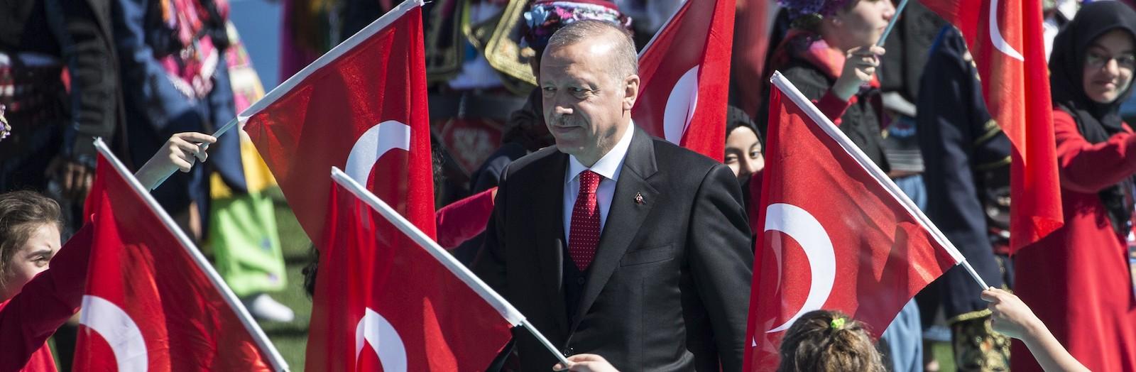 Turkish President Recep Tayyip Erdogan (Photo: Ali Balikci via Getty)
