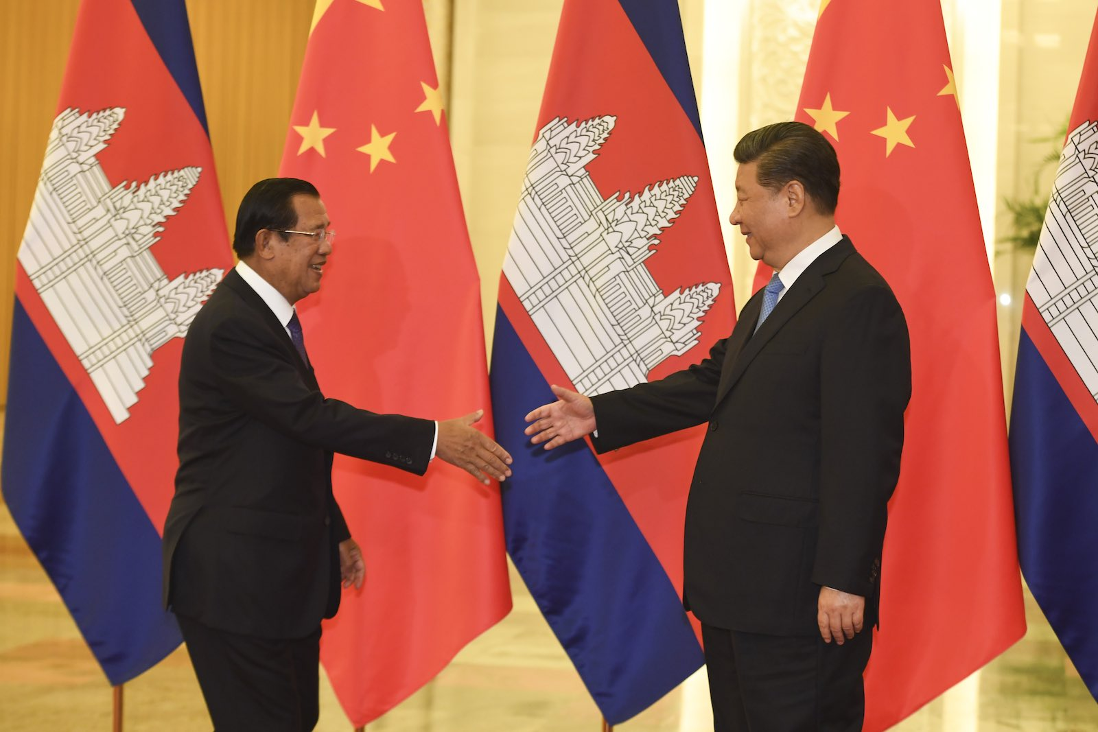The deeper Sino-Cambodia relationship is certain to stir discomfort in the US, too (Photo: Madoka Ikegami via Getty)