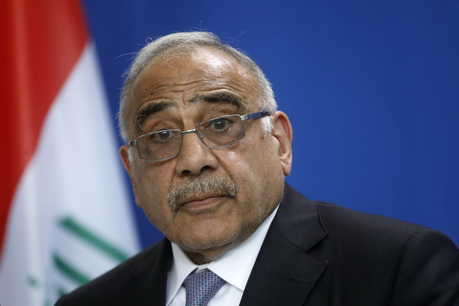 Iraqi Prime Minister Adel Abdul-Mahdi (Photo by Michele Tantussi/Getty Images)
