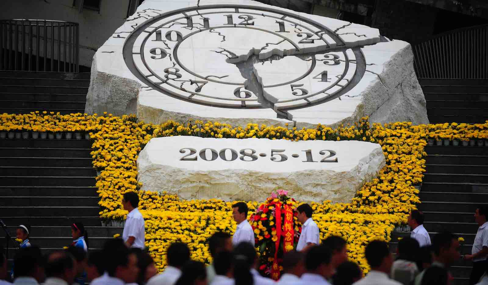 Memorial for victims of the 2008 Wenchuan earthquake (Photo: VCG via Getty)