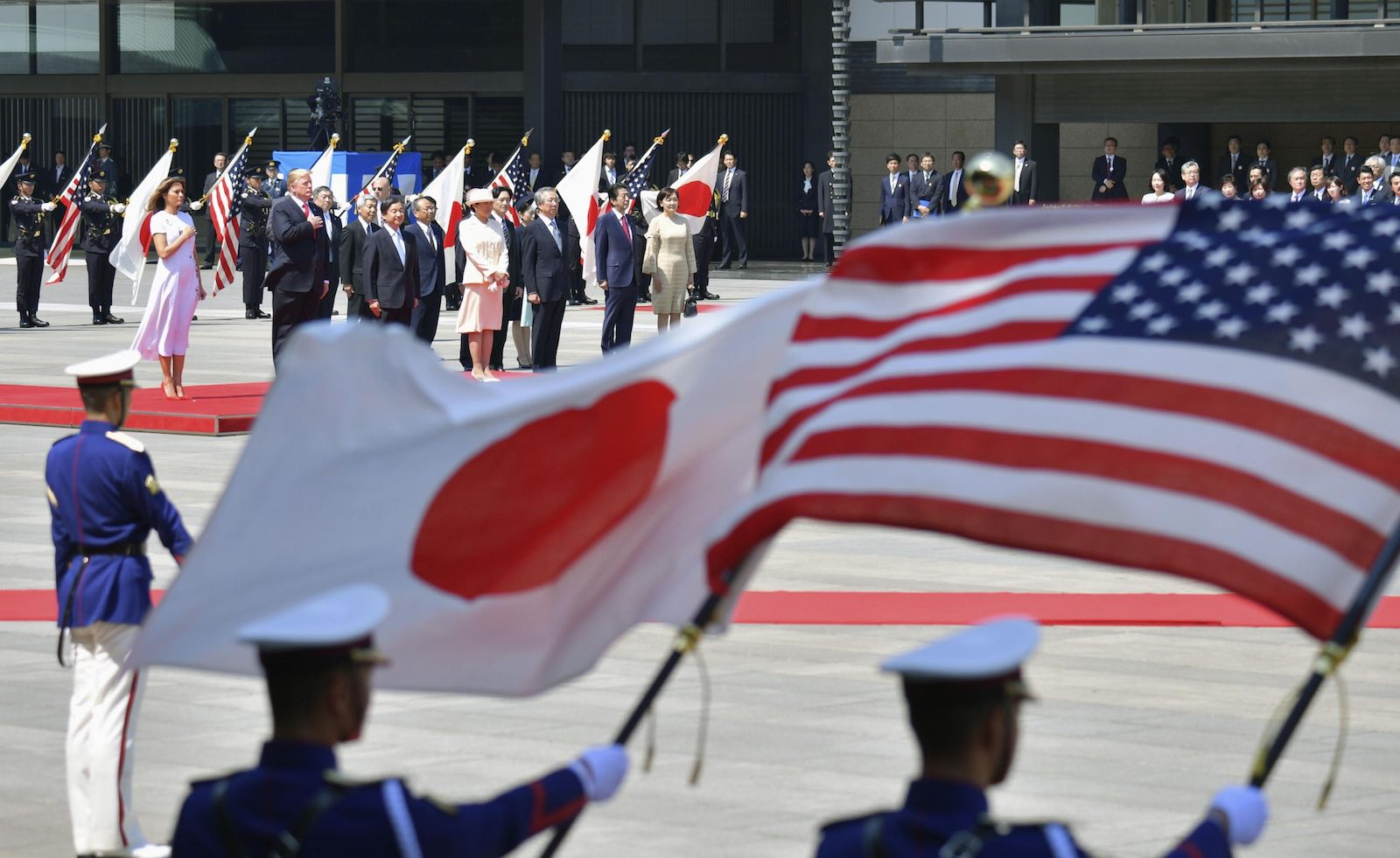 Radical message: Japan should abandon its plan to get the budget into balance by 2025 (Photo: Kyodo News via Getty)