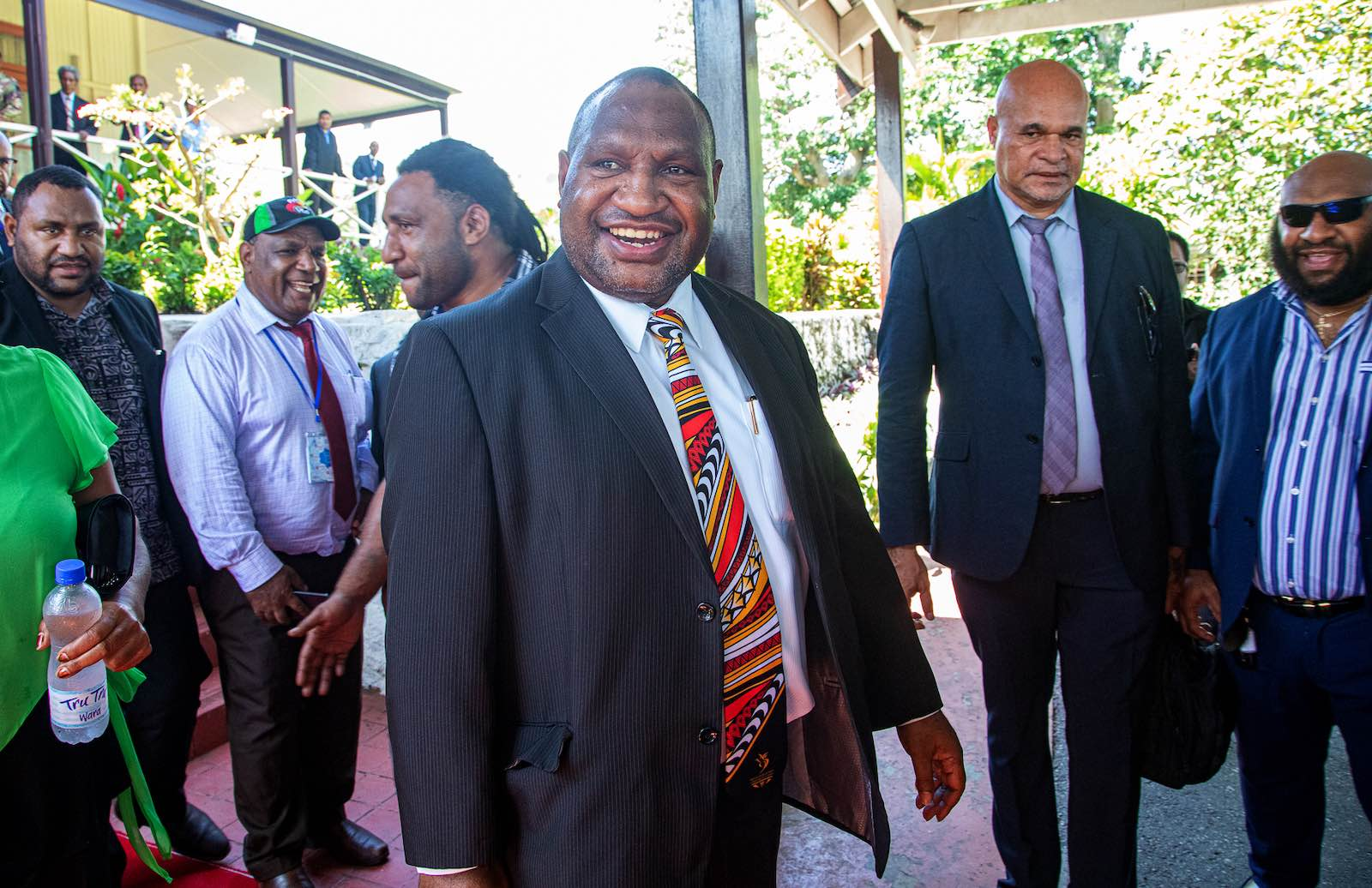 Swearing in: James Marape wins the top job in PNG (Photo: Vanessa Kerton via Getty)