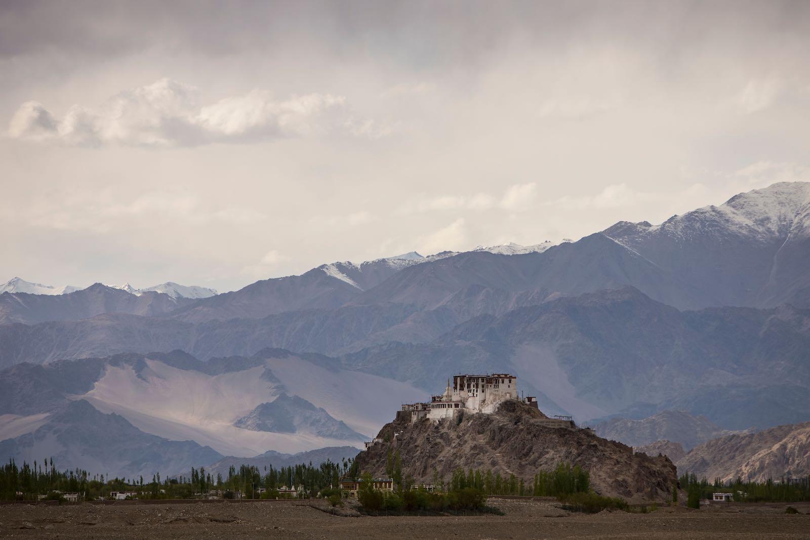 Stakna Monastery near Leh in the northern Indian state of Ladakh (Photo: Xavier Galiana via Getty)