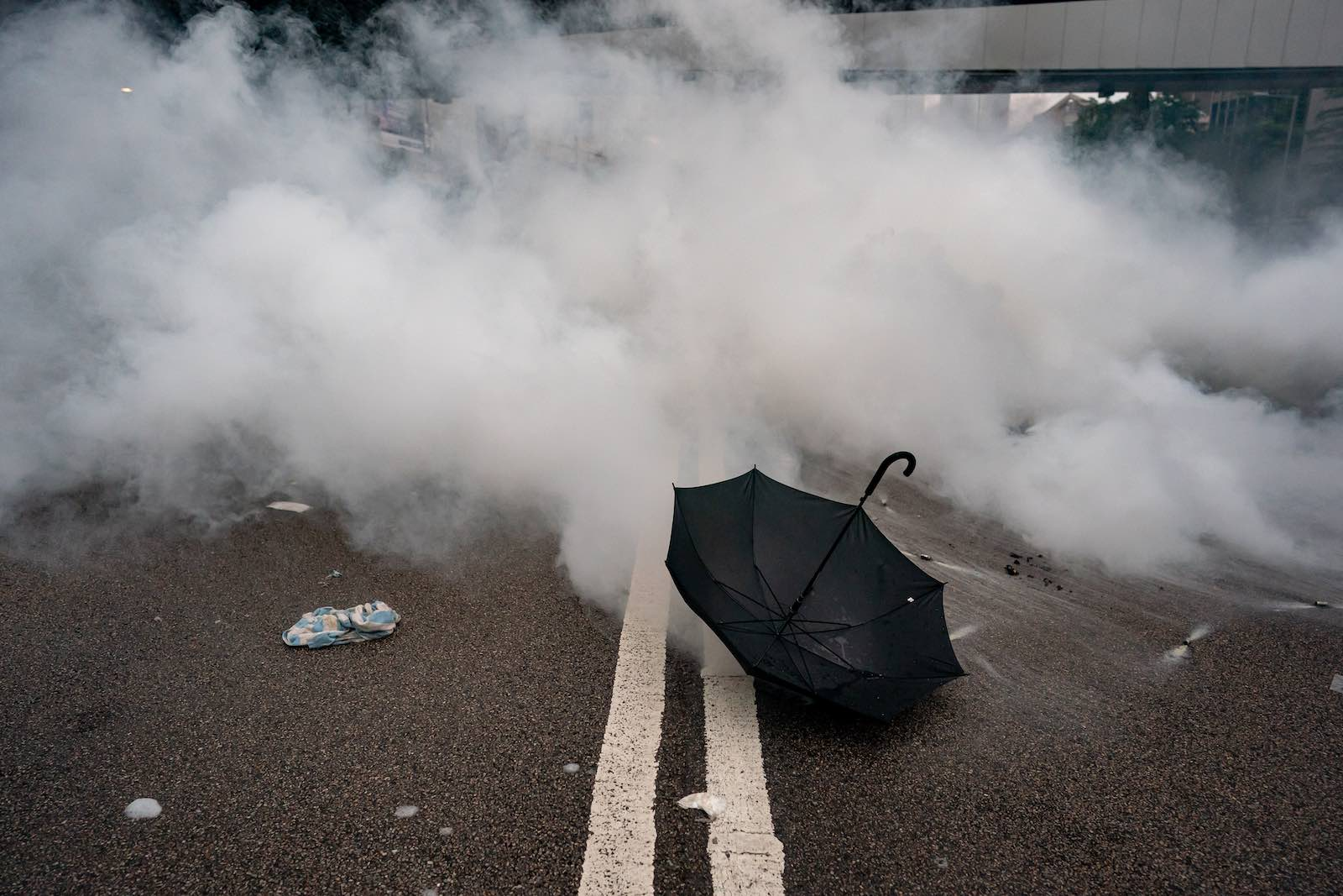 "Recent violence shows Hong Kong Police Force – once heralded as ""Asia's finest"" – have become partisan political enforcers (Photo: Anthony Kwan/Getty)"