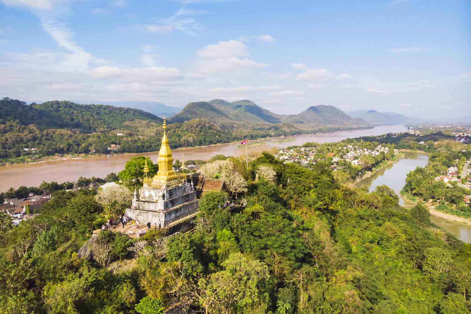 Luang Prabang and the Mekong River in Laos (Photo: Getty Images)