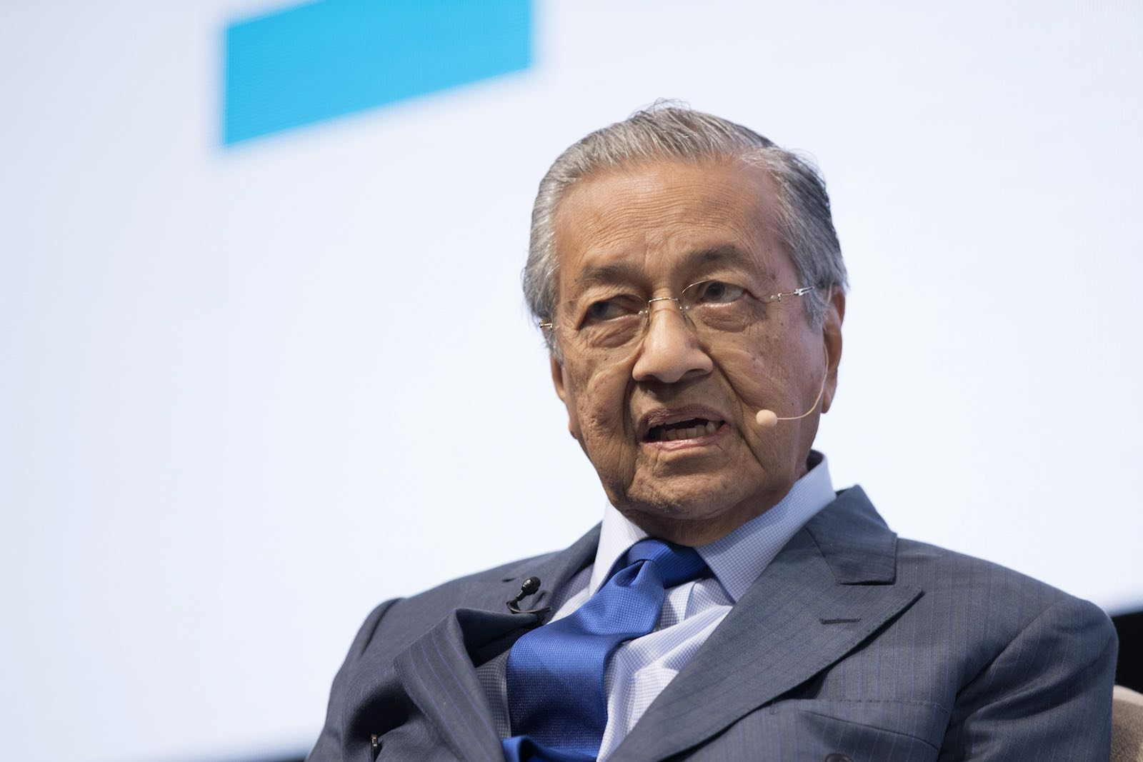 Who gains from all this political intrigue? The obvious answer is Mahathir (Photo: Brent Lewin via Getty)