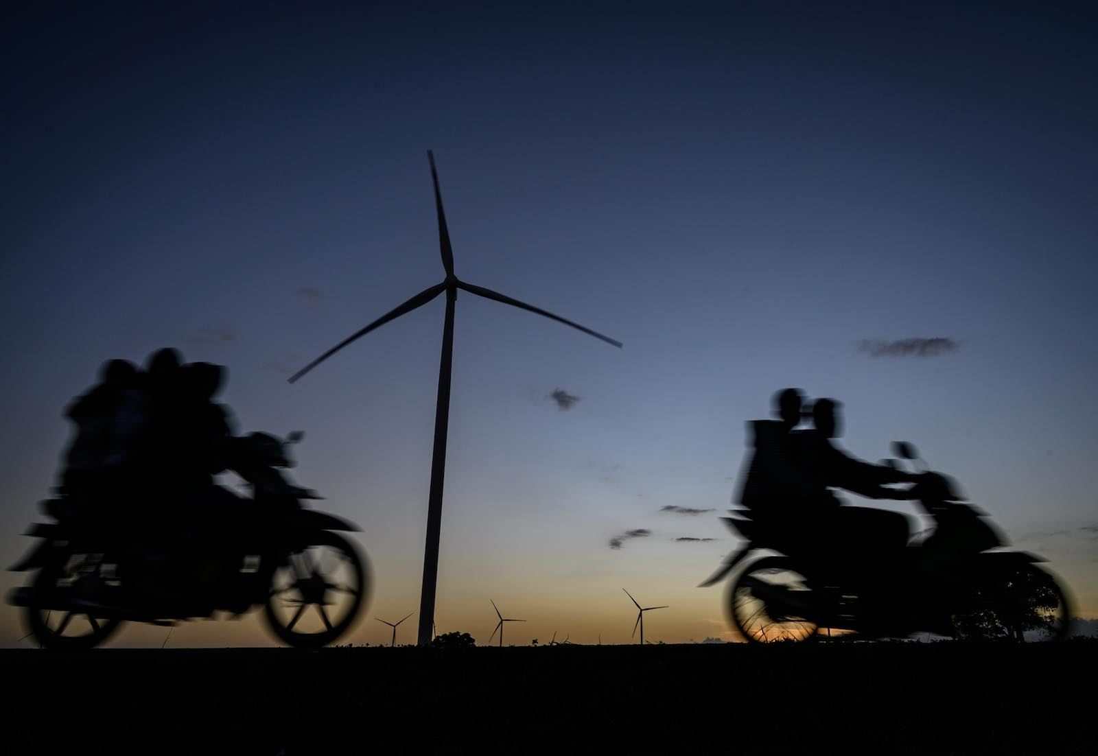 Catching the breeze: wind turbines in South Sulawesi (Photo: Hariandi Hafid via Getty)