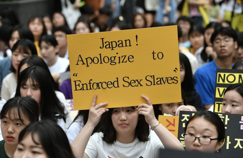 conflict between korea and japan comfort women에 대한 이미지 검색결과