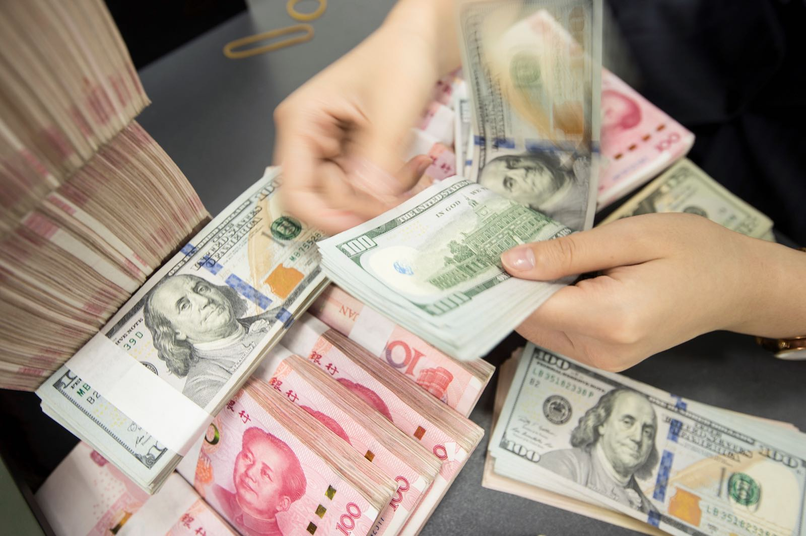 The move to label China a currency manipulator is significant (Photo: STR via Getty)