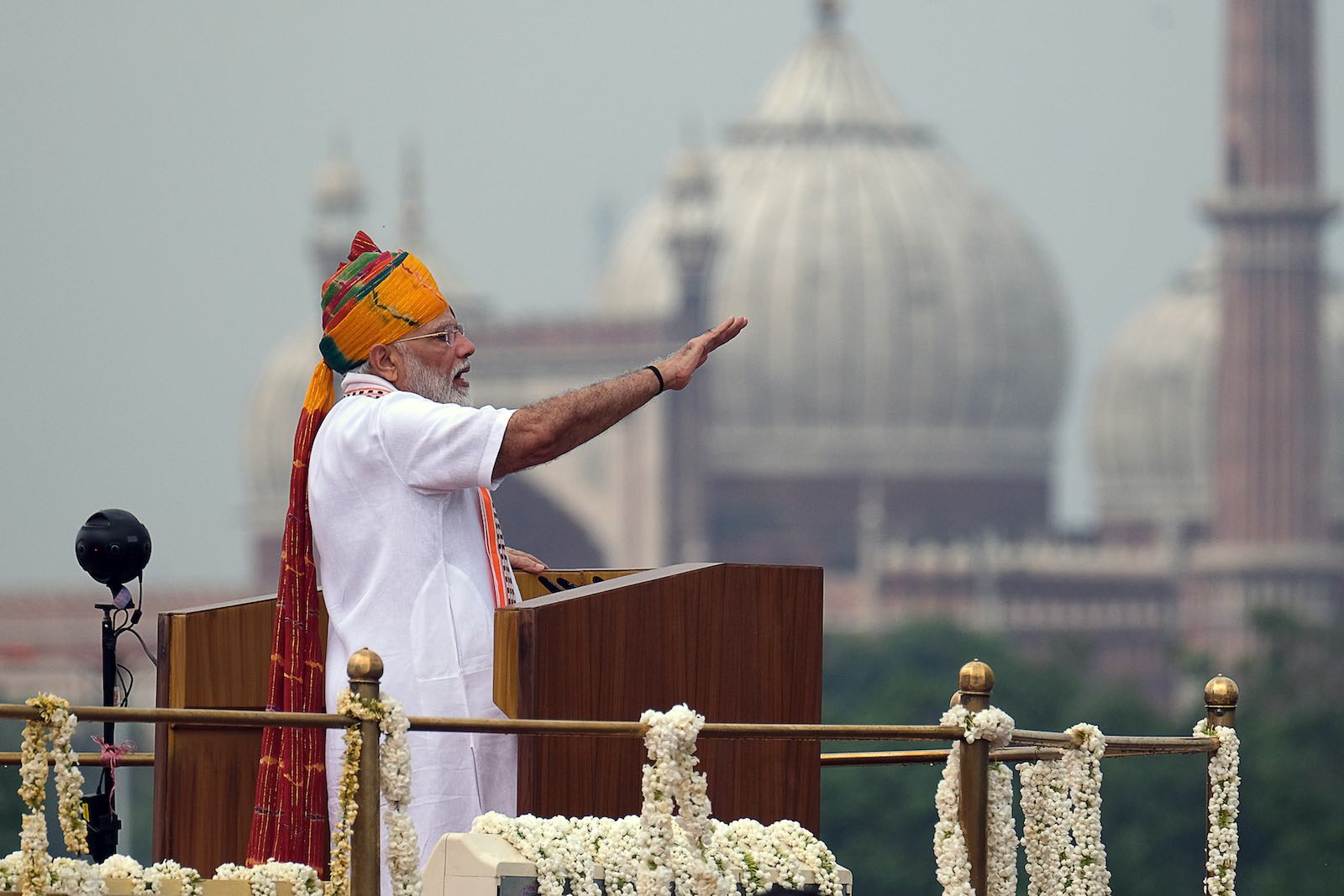 What Modi did not say in his speech is as important as what he did (Photo: T. Narayan via Getty)