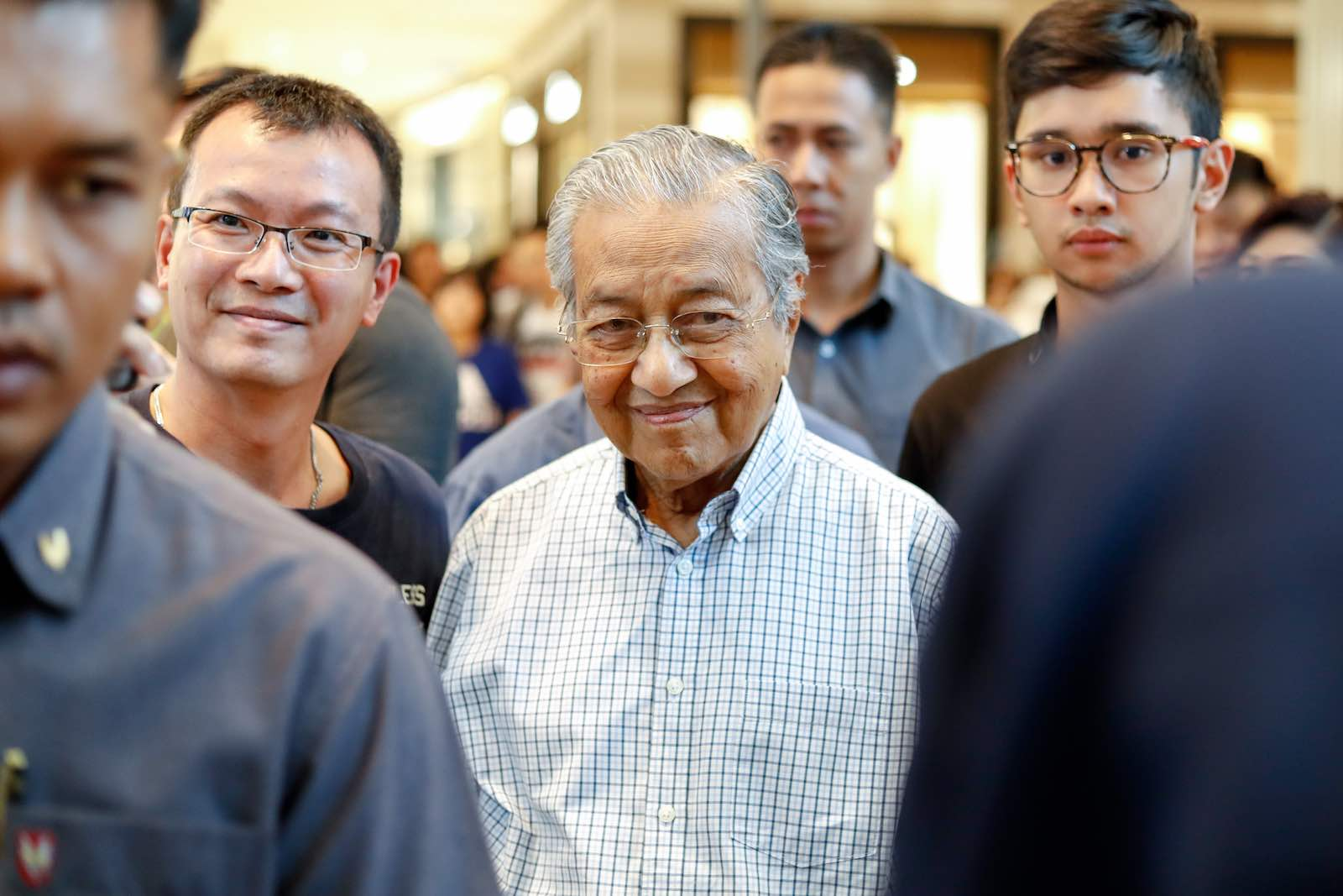 Not without irony is Mahathir Mohamad hoping to host a second APEC forum (Chris Jung via Getty Images)
