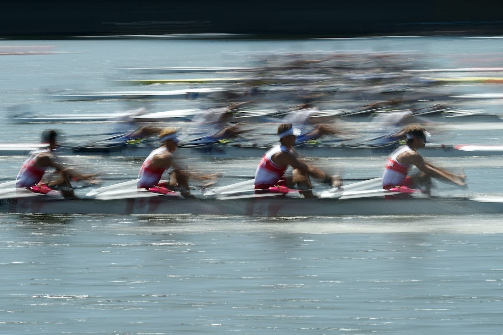 Heats during the 2019 World Rowing Junior Championships in Tokyo in preparation for the now-delayed 2020 Olympic Games (Matt Roberts/Getty Images)