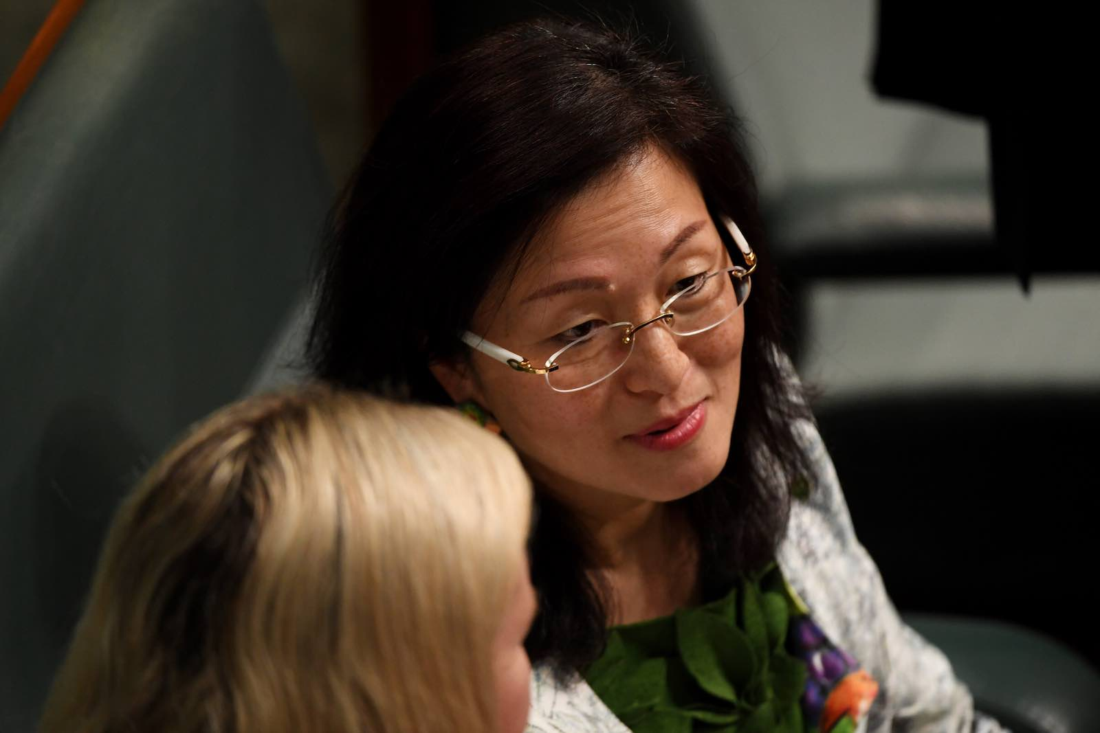 Liberal backbencher Gladys Liu (Photo: Tracey Nearmy/Getty Images)