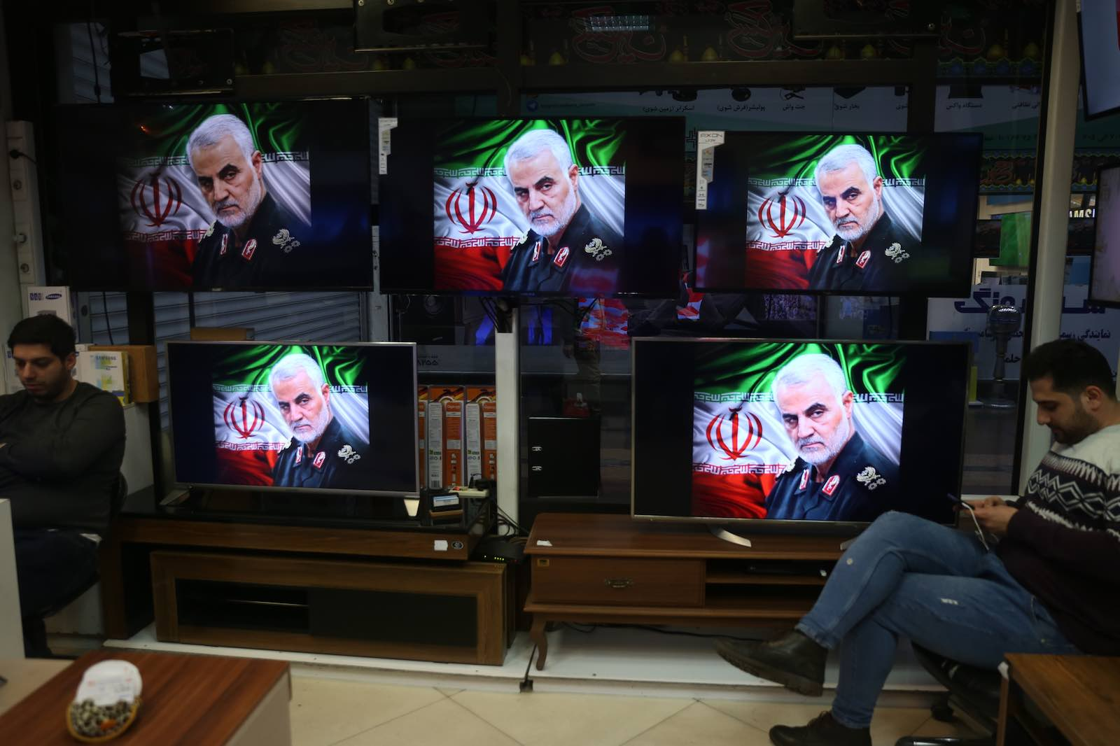 Iranian revolutionary guard General Qaseem Soleimani is lionised in Tehran (Photo: Majid Saeedi/Getty Images)